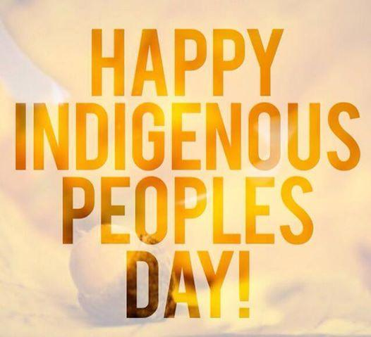 Happy Indigenous Peoples Day! #IndigenousPeoplesDay #NativePride http://t.co/zqW2OyLHsF