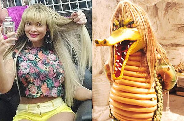 Geisy Arruda muda visual e é comparada a Fofão e Cuca por internautas. http://t.co/Jn7wbLMubn http://t.co/loNdsIkr7K