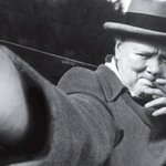 Sir Winston Churchill Selfie http://t.co/nFP2uFgohZ ☼ http://t.co/Cp4Z9cLMIG