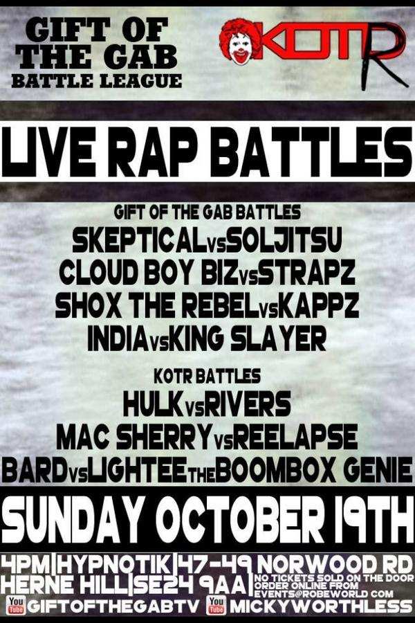 CONTACT - @Snoopy558 @MykalMillion @Hulk_Music @mickyworthless FOR TICKETS THIS SUNDAY 19.10.14 #KOTR #GOTG http://t.co/S3X8yGJvMV