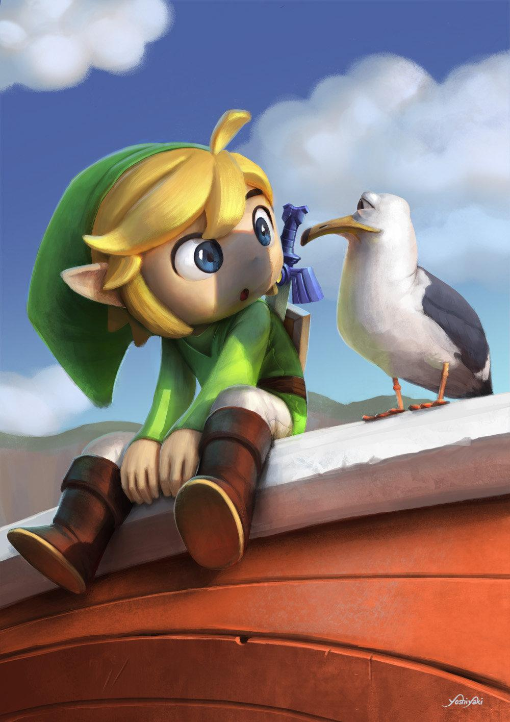 Link & Zelda Fan Arts par Cassio Yoshiyaki #nintendo #zelda http://t.co/elhu5AiyI2