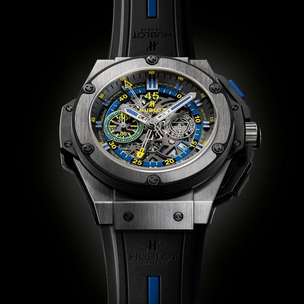 #Hublot is thrilled to unveil the King Power @Fenerbahce dedicated to the club & limited to 100 pieces! http://t.co/v5XRqwFJ5n