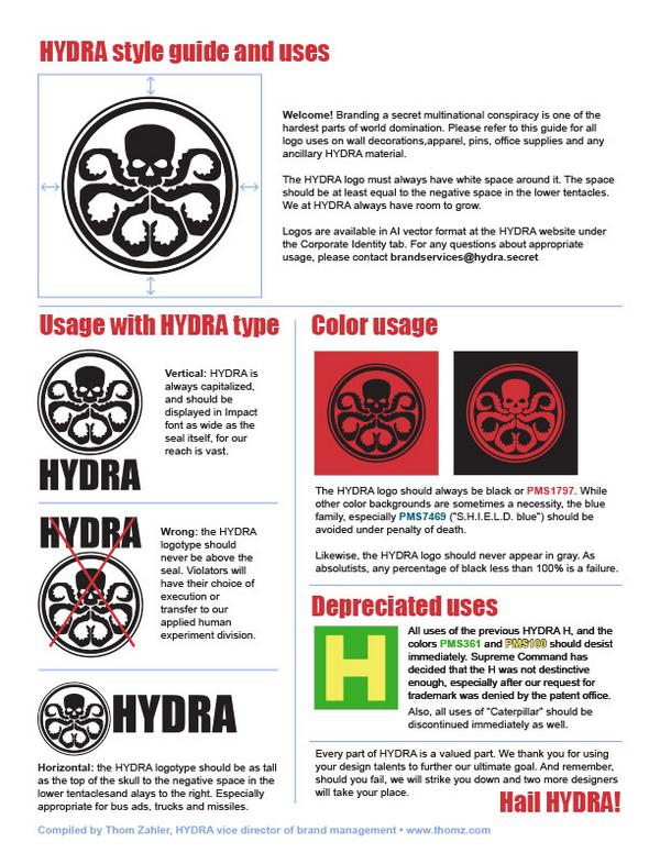 Look! I found the HYDRA style guides! http://t.co/tNgDC9ntwL #hailhydra http://t.co/wOy2tm8Qip