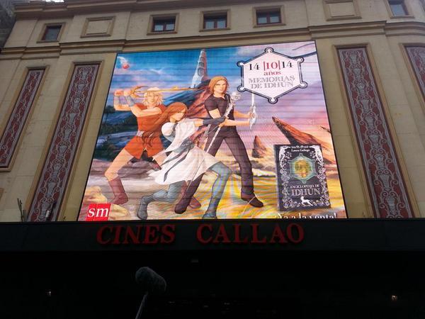 Callao tiene idhunitis :) #Soyidhunita ¡Qué bonita la pantalla! http://t.co/gvcQxhJmlL