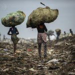 Beauty amid enviromental disaster: stunning picture by @GGuercia #AFP in #Maputo public dump, #Mozambique http://t.co/SJJ70t0deU