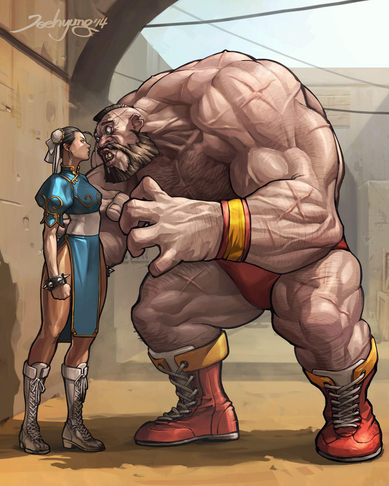 Street Fighter par by LEE JEEHYUNG #capcom #streetfighter http://t.co/AUoZjzI1iT