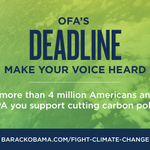 Tonight is the deadline to have your name included in OFA's public comments to the EPA: http://t.co/k0t02l276p