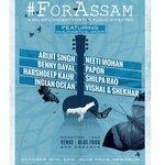 RT @VishalDadlani: Pl.share! @ShekharRavjiani @MikaSingh @K_K_Pal @singer_shaan @shreyaghoshal @SunidhiChauhan5 @Shankar_Live #ForAssam htt…