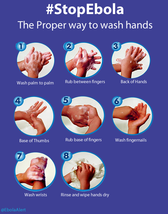 Tomorrow is #GlobalHandwashingDay! Follow these steps from @EbolaAlert to make sure you're doing it right. http://t.co/DCaOTo5XyW
