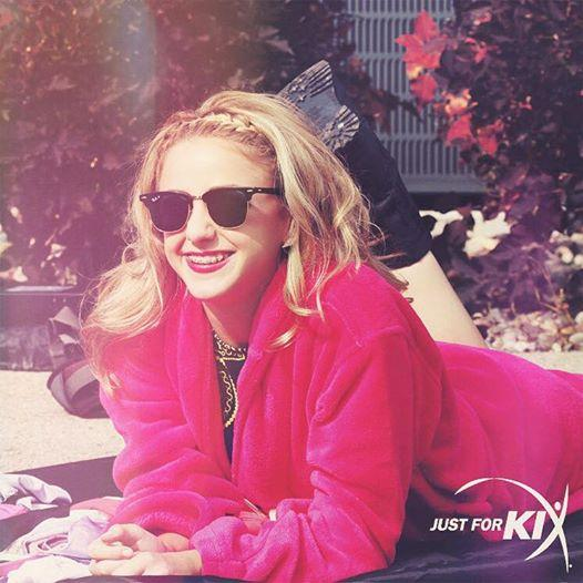 @chloedancer3 lookin' cute behind the scenes. RT if you love Chloe as much as we do!! #jfkdance #alexandracollection http://t.co/v8Wu4a6e6m