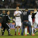 RT @GeniusFootball: VIDEO: Albania players attack Serbias Mitrovic for pulling the flag! Shocking scenes!.. http://t.co/Euc4rhc0h4 . http://t.co/n7FNVZevtk