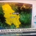 N1 correspondent Branislav Sovljanski reporting live for CNN about Serbian-albanian game being interrupted. http://t.co/4cuI1FQvdM