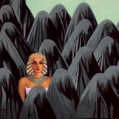 Very powerful cartoon about Egypt keeping her identity against the Wahabi cultural invasion http://t.co/43zwpBrvti