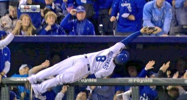 Excuse me, Ima just reach for this. #ALCS http://t.co/YVPkb6lZJ3