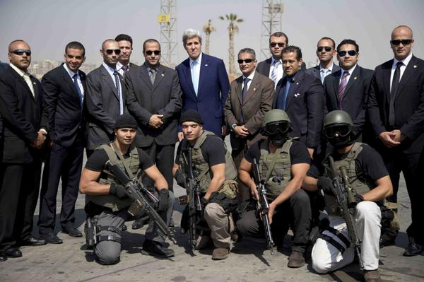 Your John Kerry photo of the day, apparently shooting a hip-hop video before he left Cairo. http://t.co/urKR2jtWtp