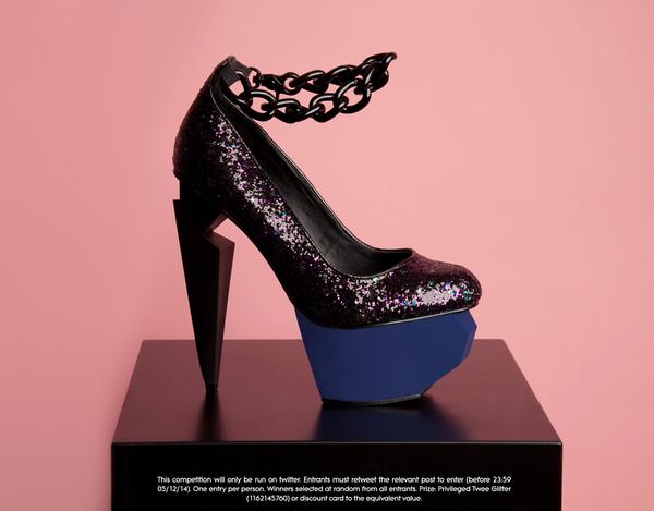 Want to win these Privileged shoes? RT to enter and they could be yours! (Ends 05/10) http://t.co/YZbTre4IIC