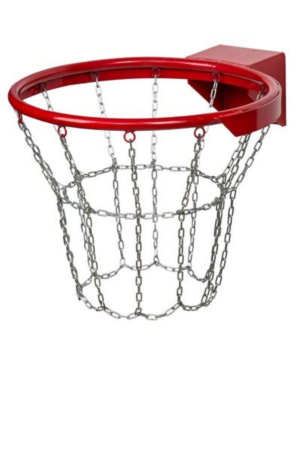Сетка для баскетбольного кольца металлическая своими руками