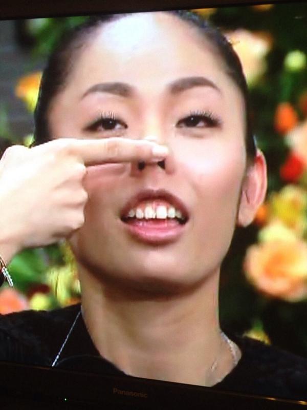 さっき、さんまのまんまで   安藤美姫ちゃんが私の真似をしていた(笑)似ている! http://t.co/sAW0GcVBLp