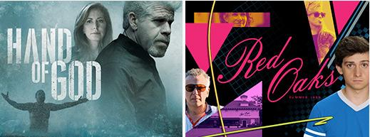 We're thrilled to announce that Hand of God and Red Oaks have been picked up for a season on #AmazonPrime! http://t.co/teNvakM2Sn