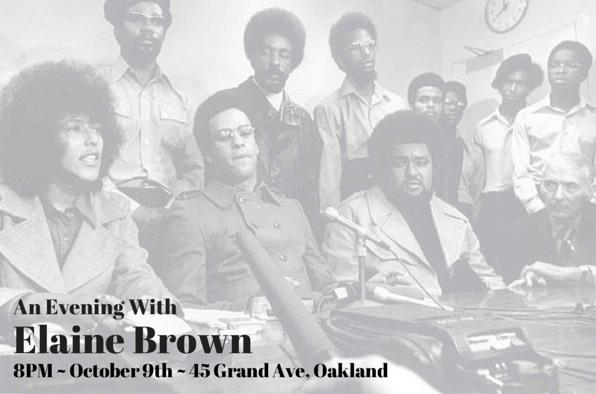 Next Thurs at 8p, @wineandbowties hosts Elaine Brown for a panel discussion at @OwlNWood! #Oakland http://t.co/w3Zn9bZ6ze