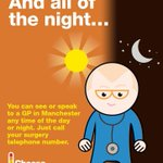 All day. And all of the night... you can see a GP #ChooseWellMcr http://t.co/d2WaxTLILo #Manchester