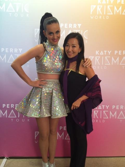 """.@KatyPerry """"You're BAG SNOB!"""" Apparently my babies told her all about me :))) @miamoretti @logandoesntweet"""