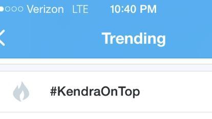 "Kendra Wilkinson @KendraWilkinson: ""@CassPiaJessiFan: @KendraWilkinson #KendraOnTop is trending http://t.co/dcLxwJBeMG"" That's so crazy! Thank u! :)"