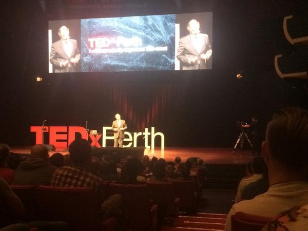 Ernesto says it's easy,,, shut up and listen to the locals...#TEDxPerth http://t.co/Zu0XBImiUf
