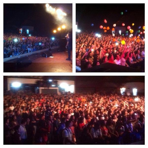 Redimi2 (@RealRedimi2): Imagenes de lo Vivido en #oberamisiones #argentina Mas de 2,500 Jovenes Glorificando a Dios. Mas de 100 Aceptaron... http://t.co/1eBE97I0PM