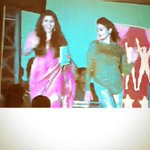Performed at Yuva Dasara, Mysore, day before.. Wore Green, red n gold.. Looked like a christmas tree..