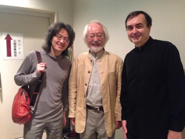 エマール 《平均律クラヴィーア曲集第1巻》全曲演奏会、終了しました!たくさんのお客様にご来場いただき有難うございました。エマールさんと親交のあるBCJの鈴木雅明さん、鈴木優人さんもお越しくださいました。 http://t.co/35VtiKaPhR