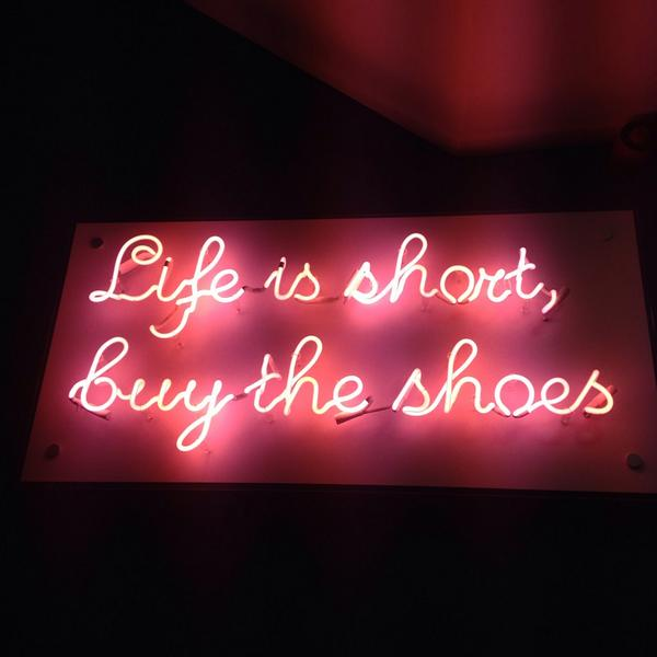 The latest addition to the Upper Street Shoe Lounge... #QuoteOfTheDay http://t.co/LGHNUyYvhD