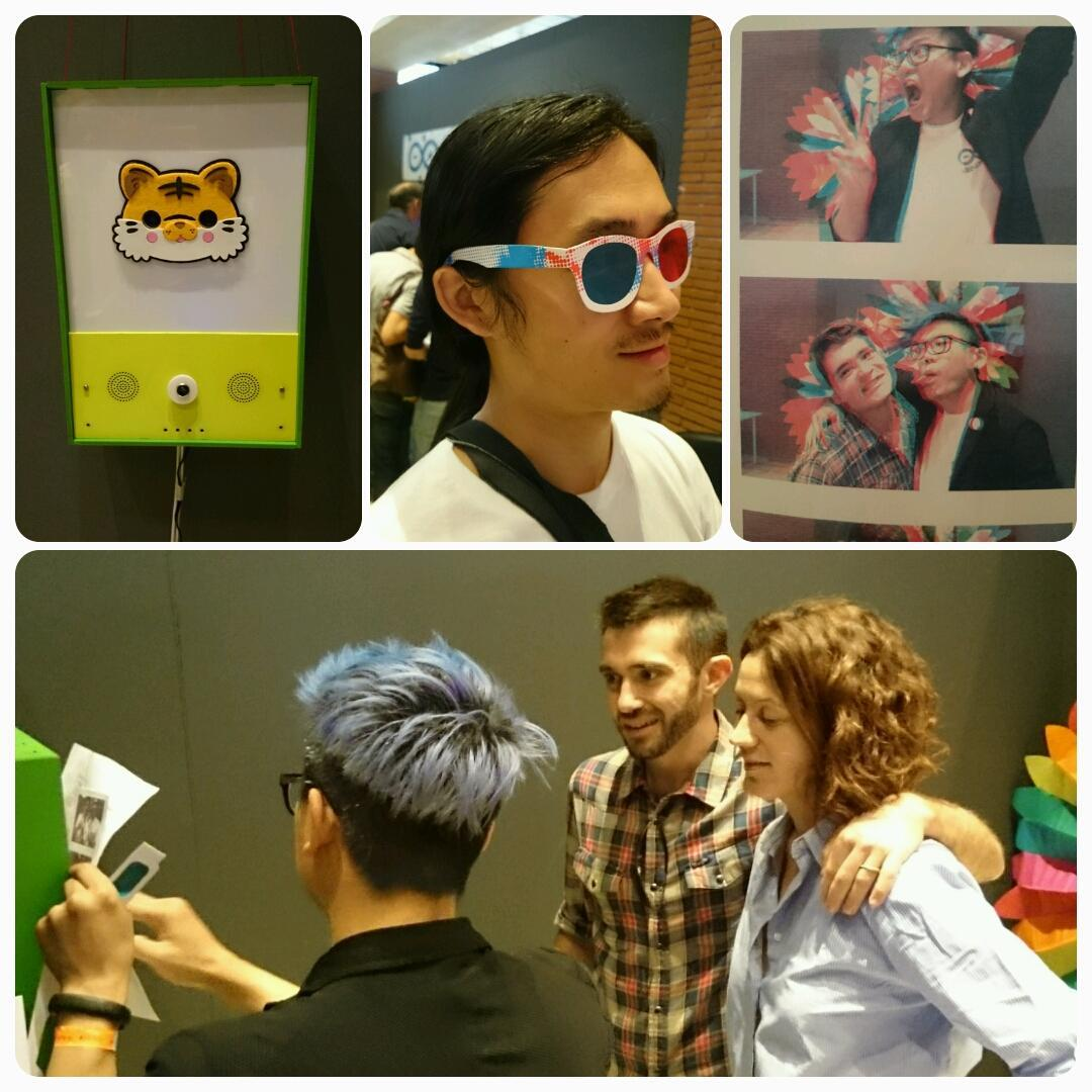 RT @dcuartielles: This is what the @arduino photobooth is all about @MakerFaireRome... and it's running on Arduino Tre http://t.co/tPxQjHD5N4