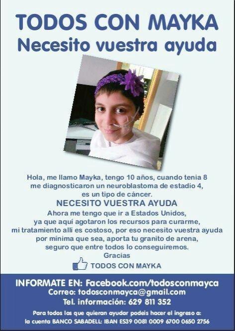 Hoy hay q estar con esta causa. #TodosConMayka #LaHoraMagica252 http://t.co/jsh570tWYS