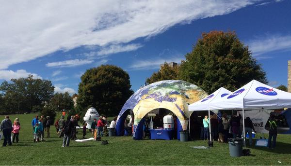 Love science/engineering? Join us @VaScienceFest in Blacksburg! Look for @NASA logo. http://t.co/YkJUAOY1Z4