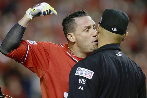 #SensualBaseball MT @MarcLancaster: #Nats' Asdrubal Cabrera and umpire http://t.co/PGpnLvHYMJ http://t.co/JBZ3OCh4jI