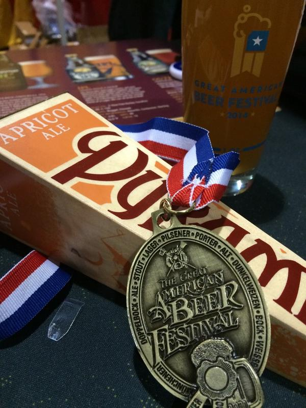 Celebrating gold at the last session of this year's #GABF http://t.co/6Kf6Z4mo9K