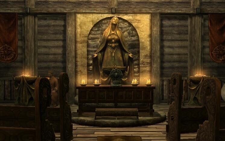 Где в скайриме находятся все святилища