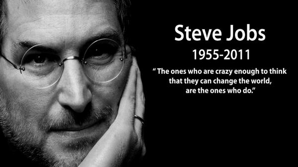 Weather you're a fan boy or not you have to respect the innovation this man brought to the world. #RIPSteveJobs http://t.co/wcrWZ2NQVa