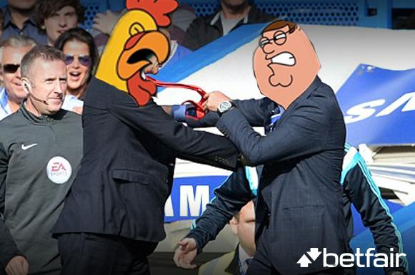 Wenger and Mourinho http://t.co/2Wf5Gap8rT