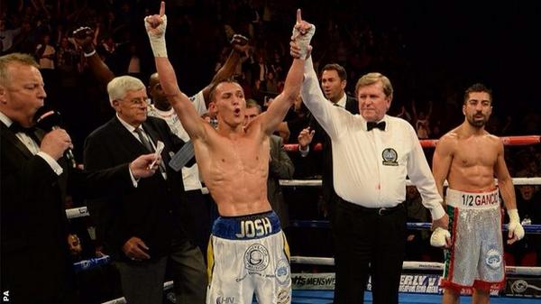 Go Josh ! He is Eurpean Featherweight Champion!! @J_Warrington on Brkfst @BBCLeeds Mon!! From 6. @fdarena http://t.co/EC7o5eEE5R