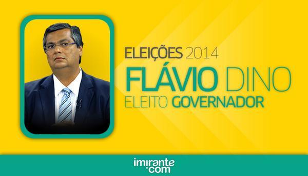 Imirante.com (@imirante): Flávio Dino do PC do B é eleito governador do Maranhão. http://t.co/CVmReUwZ3C http://t.co/gr1cbe0bpw