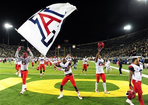 Arizona going from unranked to No. 10 is biggest jump EVER since Top 25 began in 1989: http://t.co/bbsIWpPAUe http://t.co/Y4PSwZxtuF