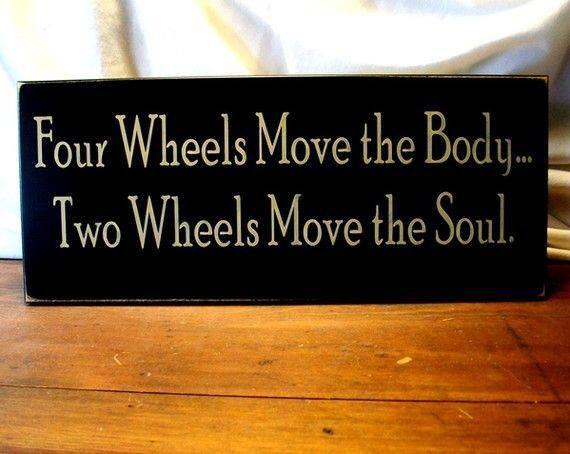 This quote is true, getting out on bike this morning!! http://t.co/mD0zunR8ec