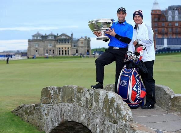 Big thanks to my caddy last week, John Dempster, thanks pal, fantastic work last week, brilliant down the stretch! http://t.co/XhC5vGLOsK