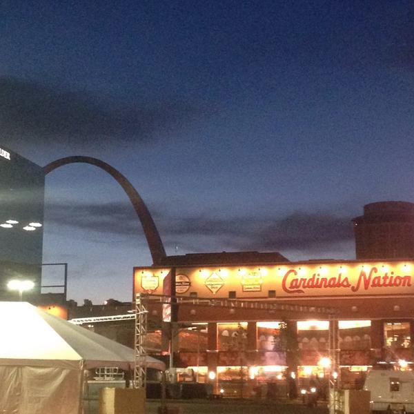 Bree Smith (@BreeSmithWx): Sun getting ready to rise on #CardinalNation http://t.co/Huqjw99j47