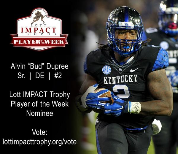 bb4e386c048 Bud Dupree has been nominated for The Lott IMPACT Player of the Week award