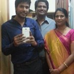 Getting ready to leave for #Joru Audio with Mom And Dad :) 7.30 live on #MaaMusic :) http://t.co/I5z13neh2F