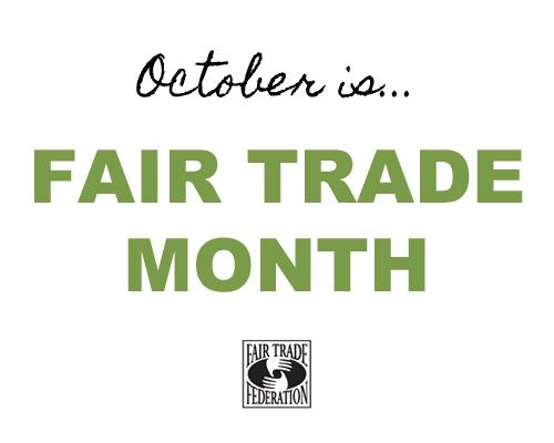 Did you know? October is #FairTradeMonth! http://t.co/1l3J3zDLiY http://t.co/xDn1FFc2BG