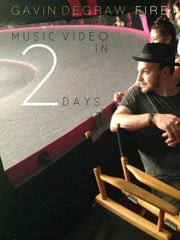 2 DAYS 2 DAYS 2 DAYS!!! RT if you're excited for @GavinDeGraw's Fire music video coming out in 2 DAYS!!! http://t.co/glEuXtCeBE